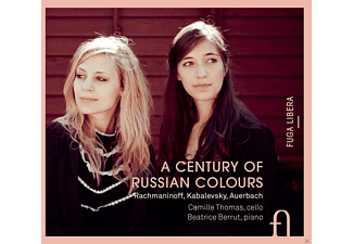 Camille Thomas, Beatrice Berrut - A Century Of Russian Colours - (CD)