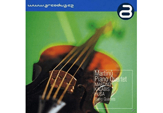 The Martinu Piano Quartet - Klavierquartette - (CD)