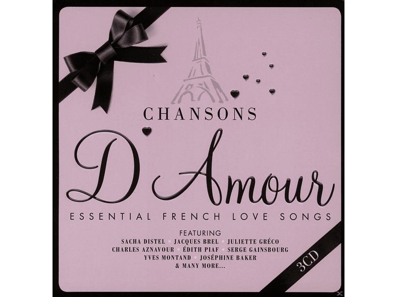 VARIOUS - Chansons D'amour (Limited Metalbox Edition) [CD]