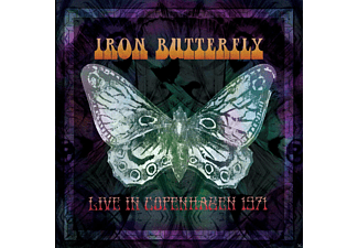 Iron Butterfly - Live In Copenhagen 1971 - (CD)