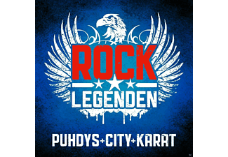 Puhdys, City, Karat - Rock Legenden - (CD)