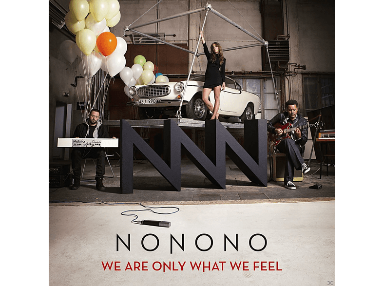 Nonono - We Are Only What We Feel [CD]