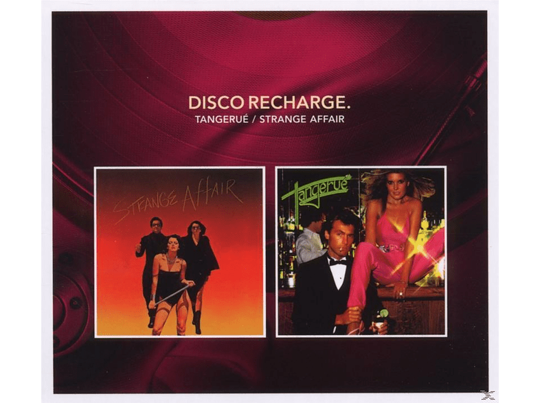 Tangerue, Strange Affair - Disco Recharge-Tangerue/Strange Affair [CD]