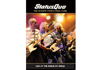 Status Quo - Frantic Four's Final Fling-Live In Dublin - (DVD + CD)
