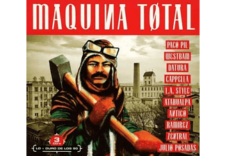 VARIOUS - Maquina Total - (CD)
