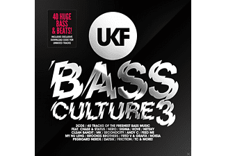 VARIOUS - UKF Bass Culture Vol.3 (2CD+MP3) - (CD)