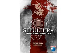 Sepultura with Les Tambours Du Bronx - Metal Veins – Alive At Rock In Rio (DVD)