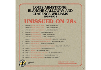 Armstrong,Louis,Calloway,Blance,Williams,Clar - Unissued on 78s Hot Dance Bands 1929-1938 - (CD)