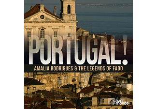 Amália Rodrigues, VARIOUS - Portugal! The Legends Of Fado - (CD)