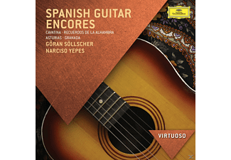 Göran Söllscher, Narciso Yepes - Spanish Guitar Encores [CD]