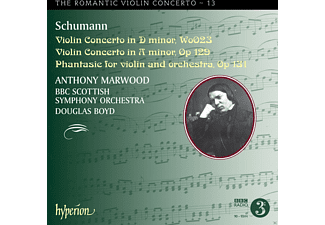 Anthony Marwood, Bbc Scottish Symphony Orchestra - The Romantic Violin Concerto Vol.13 - (CD)