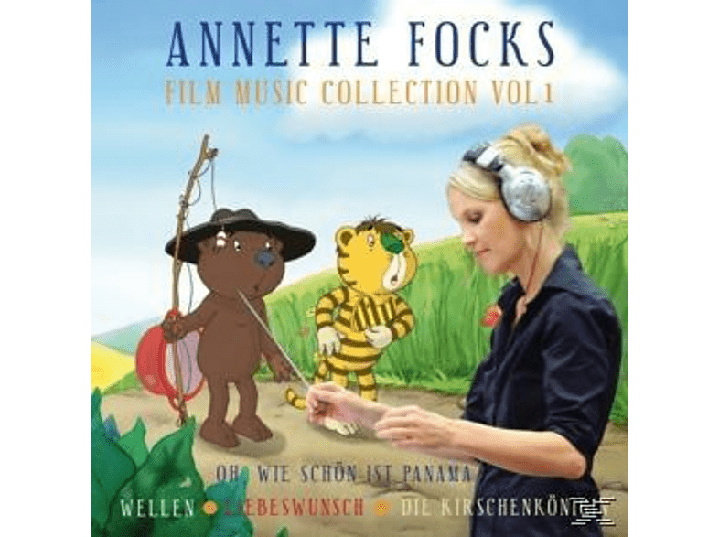 Annette Focks - Film Music Collection Vol.1 [CD]
