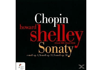 Shelley Howard - Sonatas in C Minor B Minor & B-Flat Minor - (CD)