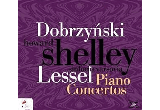 Shelley, The Sinfonia Varsovia, H. Shelley, H./Shelley/Sinfonia Varsovia Shelley - Klavierkonzerte - (CD)