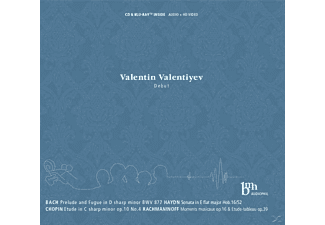 Valentiyev Valentin - Debut - (CD + Blu-ray Disc)