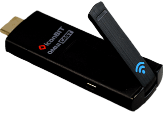 ICONBIT Omnicast-Stick Multimediaplayer, Schwarz