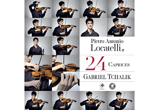Gabriel Tchalik - 24 Caprices For Violin - (CD)