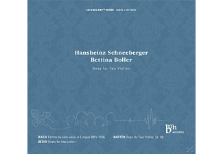 Hansheinz Schneeberger, Bettina Boller - Duos For Two Violins - (CD + Blu-ray Disc)
