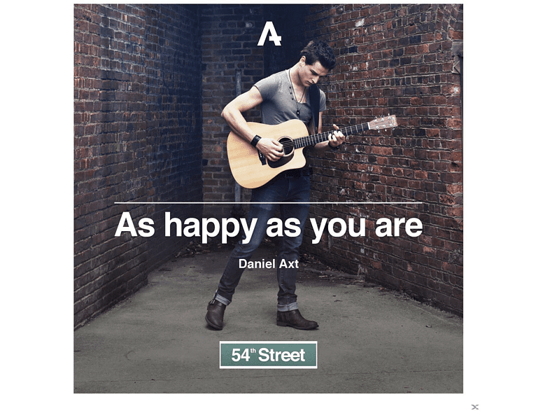 Daniel Axt - As Happy As You Are - 54th Street [CD]