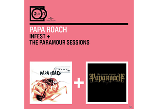 Papa Roach - 2 For 1: Infest/The Paramour Sessions - (CD)