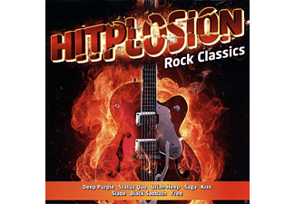 VARIOUS - Hitplosion-Rock Classics - (CD)