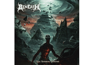 Beneath - The Barren Throne - (CD)
