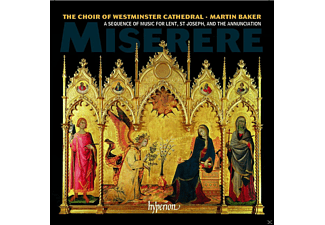 Martin Baker, Westminster Cathedral Choir - Miserere - (CD)