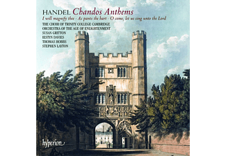Susan Gritton, Thomas Hobbs, Orchestra Of The Age Of Enlightenment, Iestyn Davies, Choir Of Trinity College, Cambridge, The - Chandos Anthems - (CD)