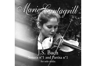 Marie Cantagrill - Sonata 1 And Partita 1 - (CD)