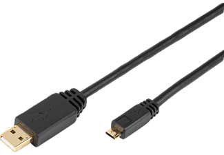 VIVANCO 33901 TT CO 1 m Micro USB Kablo
