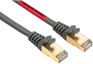 HAMA 45059 CAT5E STP 5 m Gri Cross Over Kablo