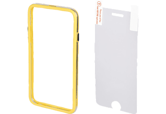 HAMA Edge Protector Handyhülle, Gelb, passend für Apple iPhone 6 Plus, iPhone 6s Plus