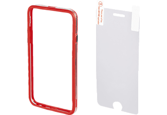 HAMA Edge Protector Handyhülle, Rot, passend für Apple iPhone 6 Plus, iPhone 6s Plus