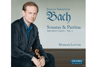 Rudiger Lotter - Sonatas & Partitas For Solo Violin Vol. 1 - (CD)