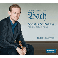 Rudiger Lotter - Sonatas & Partitas For Solo Violin Vol. 1 [CD]