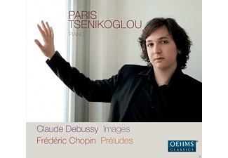 Paris Tsenikoglu - Images - Préludes Op. 28 - (CD)