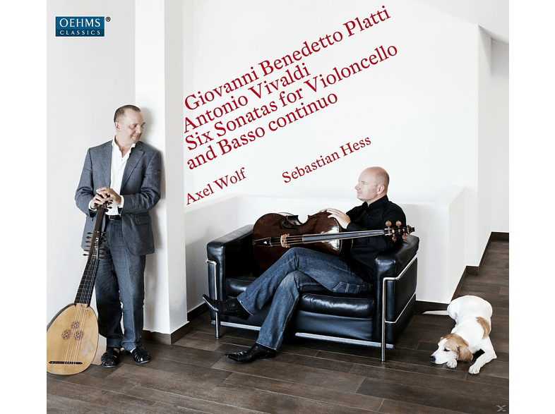 Sebastian Hess, Axel Wolf - Six Sonatas for Violoncello and Basso Contuinuo [CD]