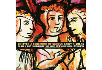 Sally Pryce, Holst Singers, Boys Of The Temple Church Choir, City Of London Sinfonia, Choir Of Trinity College, Cambridge, The, Allan Clayton - St.Nicholas / Ceremony Of Carols - (CD)
