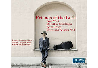Axel Wolf, Anna Torge, Dorothee Oberlinger, Christoph Anselm Noll - Friends Of The Lute - (CD)