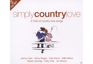 VARIOUS - Simply Country Love - (CD)