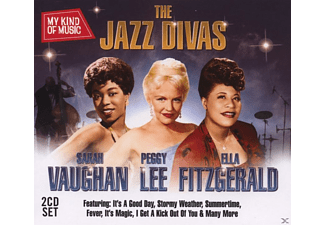 Vaughan,Sarah/Lee,Peggy/Fitzgerald,Ella - Jazz Divas - My Kind Of Music (2 Cd Set) - (CD)