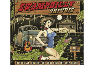 VARIOUS - Swampbilly Shindig-Essential Collection - (CD)