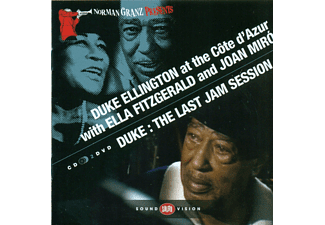 Duke Ellington - At The Cote D'azur / The Last Jam Session - (CD + DVD)