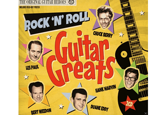 VARIOUS - Rock'n Roll Guitar Greats - (CD)