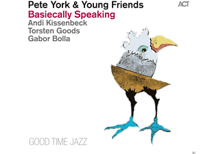 Pete & Young Friends York - Basiecally Speaking - (CD)