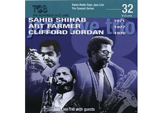 Sahib Shihab, Art Farmer, Clifford Jordan - Jazz Live Trio Concert Series-Vol.32 - (CD)