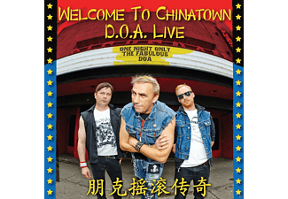 D.O.A. - Welcome To Chinatown: D.O.A.Live - (CD)