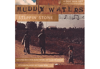 Muddy Waters, VARIOUS - Stepping Stone - (CD + DVD)