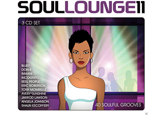 VARIOUS - Soul Lounge 11 - 40 Soulful Grooves [CD]