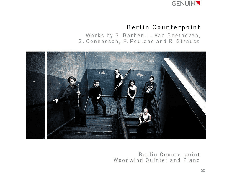 Berlin Counterpoint, Woodwind Quintet And Piano - Berlin Counterpoint [CD]